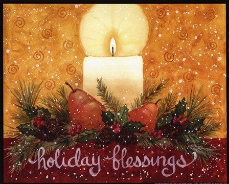 Holiday Blessings by Annie Lapoint