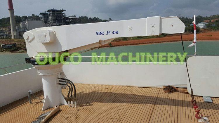 Ouco Crane Manufacturer Boat Crane Marine Deck Crane For Sale Cranes For Sale Manufacturing Boat