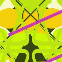 """Green Flies & Butterflies"" Designed By R Harding"