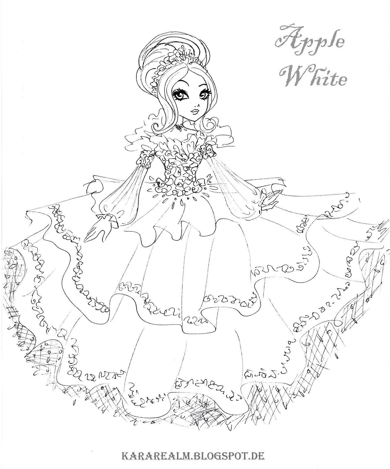 Abbey Bominable Mh By Jadedragonne On Deviantart Coloring Pages Cute Coloring Pages Coloring Books