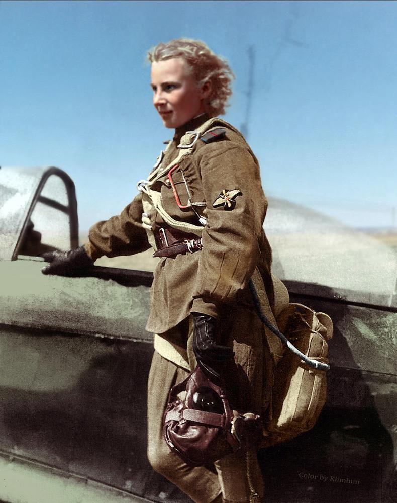 Лидия Литвяк, самая результативная женщина-истребитель Второй Мировой войны