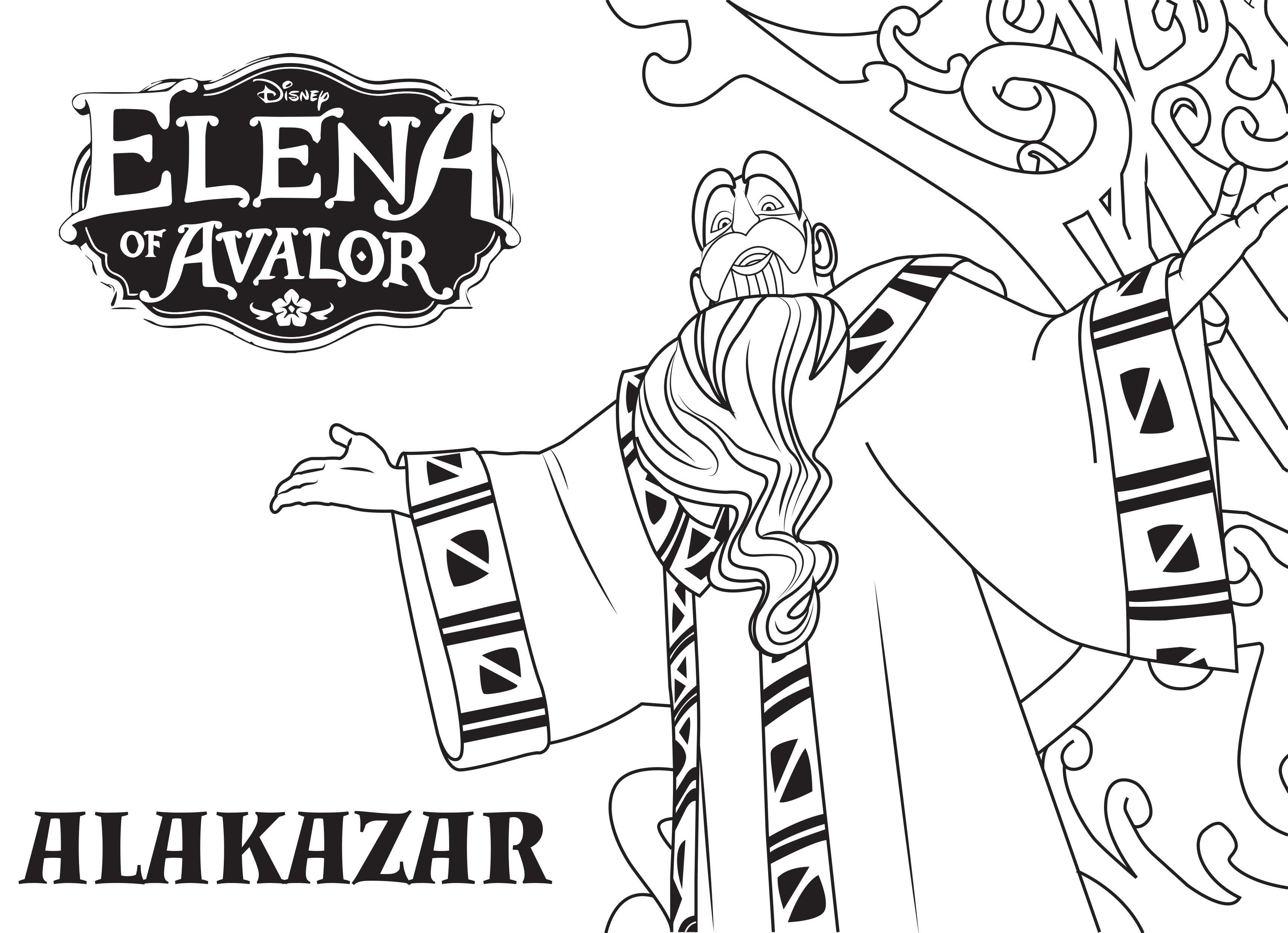 Disney S Elena Of Avalor Coloring Pages Sheet Free Disney Printable Elena Of Avalor Color Page Colorir Desenhos [ jpg ]