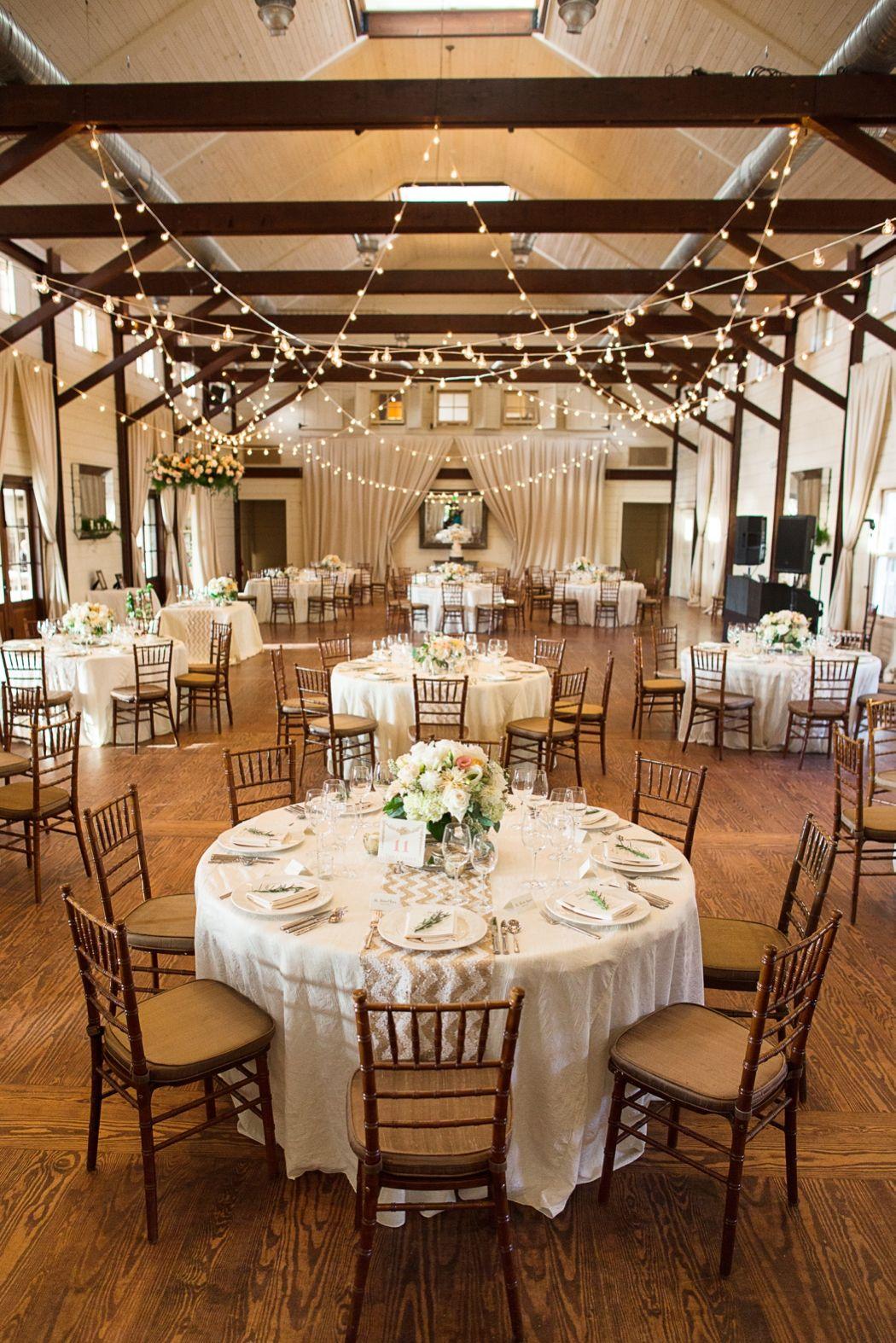 Black Tie Charlottesville Farm Vineyard Wedding Pippin Hill Indoor