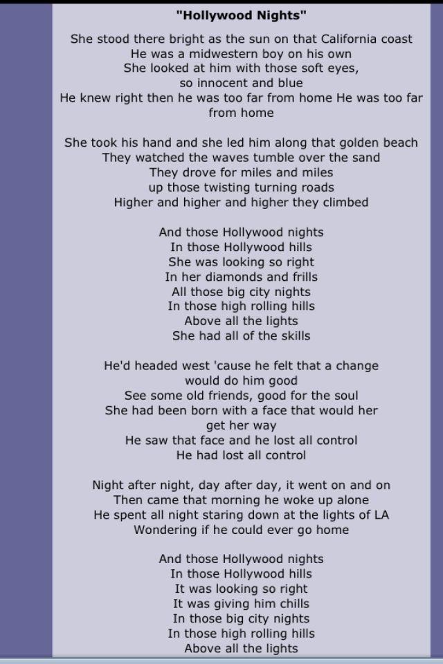 Bob Seger With Images Bob Seger Lyrics
