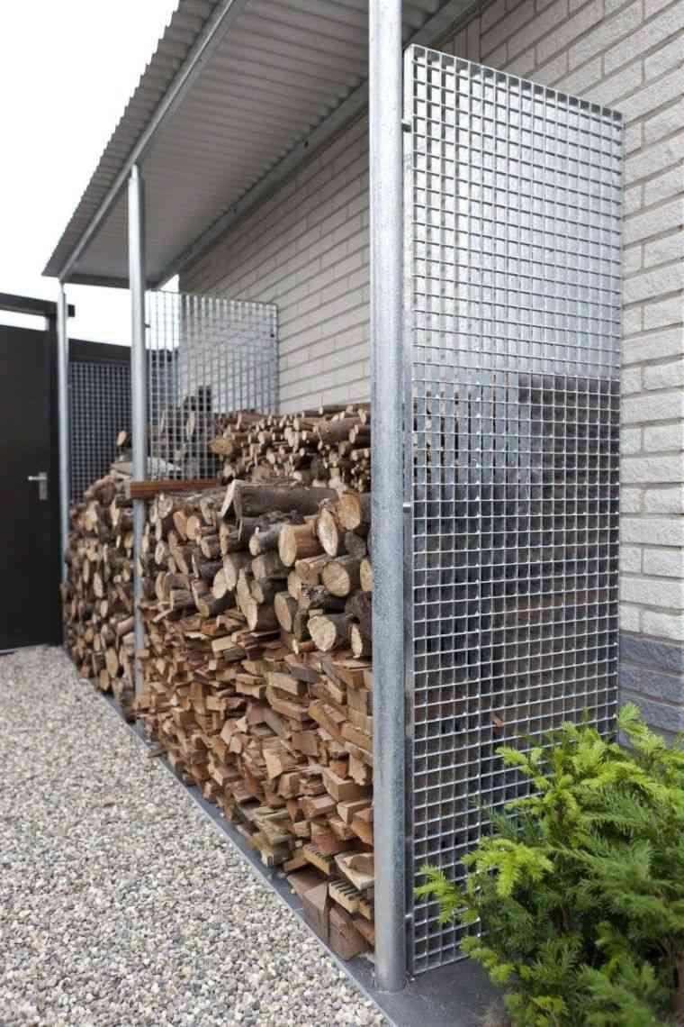 Abri Pour Bois De Chauffage A L Exterieur Nos Idees Pour Un Stockage De Buches Efficace Et Moderne Abri Bois Bois De Chauffage Amenagement Jardin