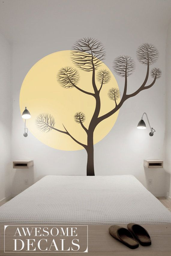 Pine tree wall decal  Tree Wall Decal  Pine Tree by awesomeDecals, $103.00