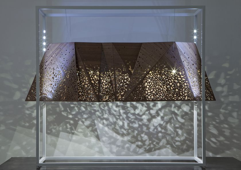 Horm Work by Mario Bellini - Doppialuce Totem - 2010 PAD_LONDON_Mario Bellini & Steven Holl