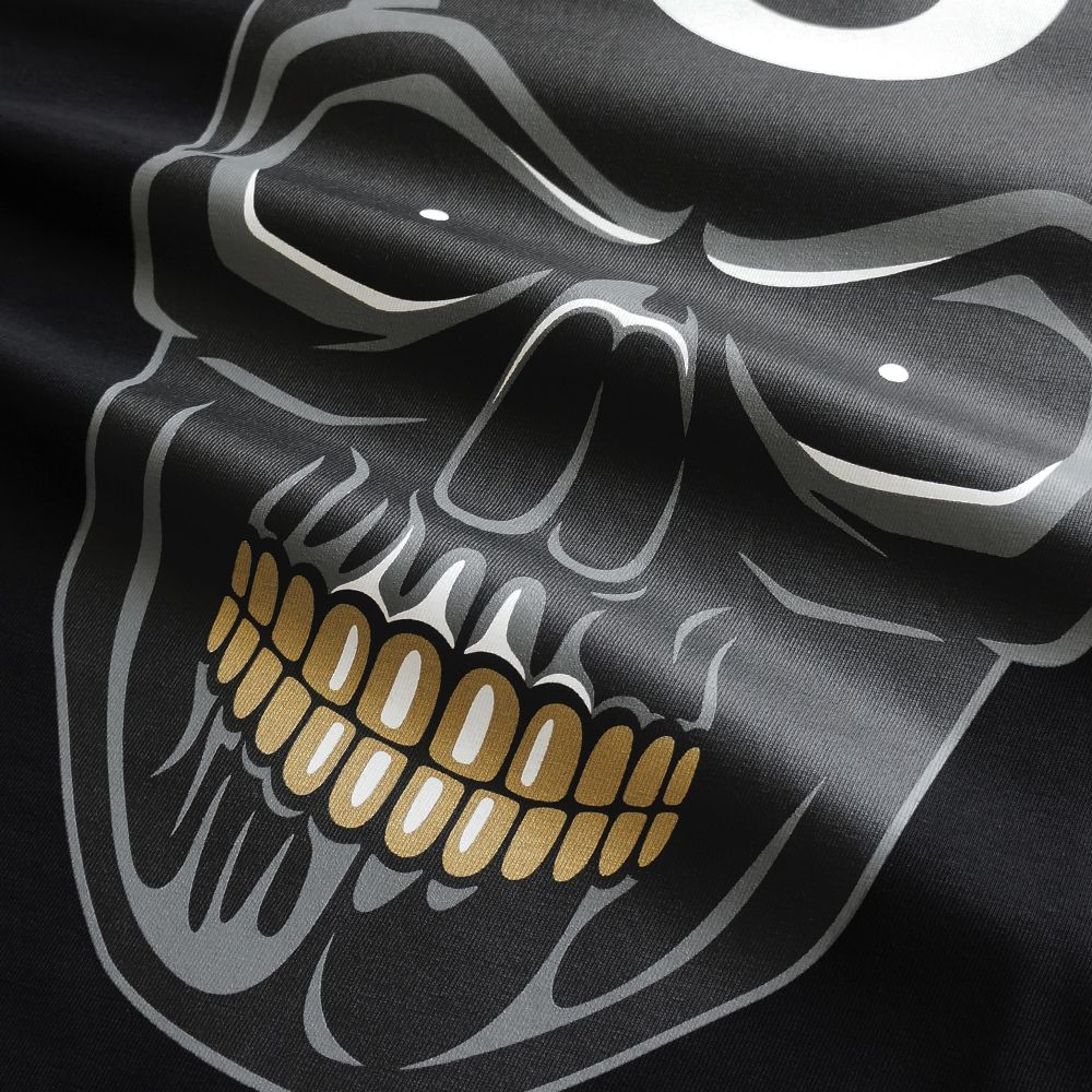 8 Ball Skull T Shirt Black 8 Ball Skull Is A Symbol Of Luck On The