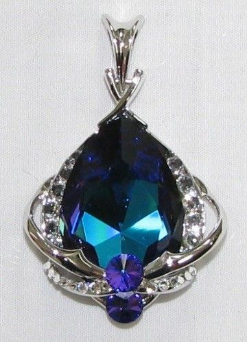 Swarovski Bermuda Blue Pendant