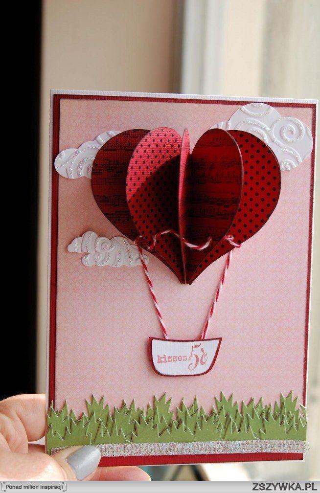 Как сделать мужчине открытку на день святого валентина