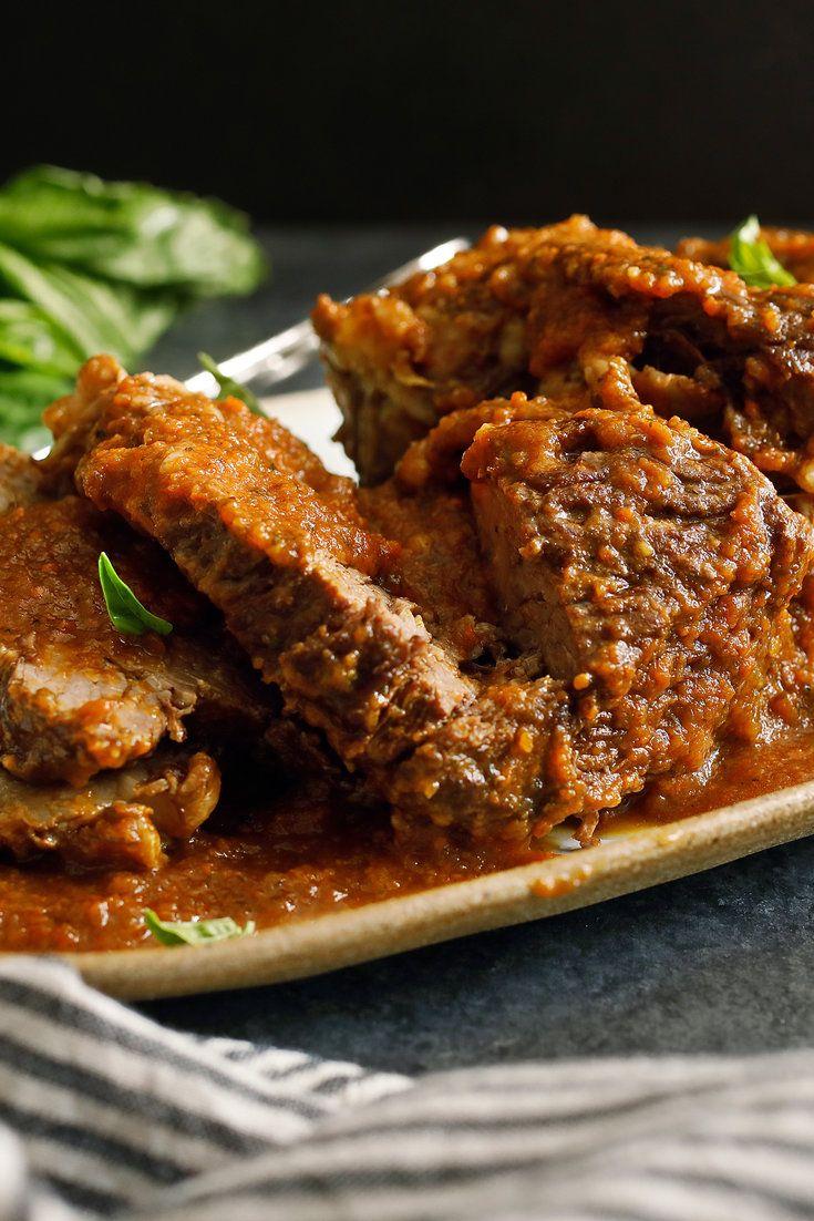 Italian Pot Roast (Stracotto)   Rezept   Italienische Küche ...