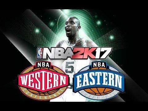 NBA 2k17 All Star Team Up