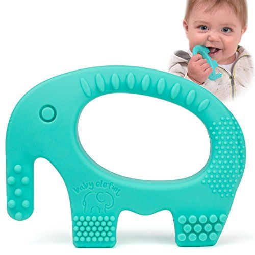 Baby teething toys adorable turquoise silicone elephant teether baby teething toys adorable turquoise silicone elephant teether bpa free best for girl or boy infant newborn 3 6 12 months 1 year old cool se negle Gallery