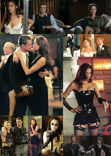 Angelina Jolie Mr And Mrs Smith Interview Pin By Eli With The Zaz On Julia Roberts And Angelina Jolie Mr And Mrs Smith Brad Pitt And Angelina Jolie Angelina Jolie