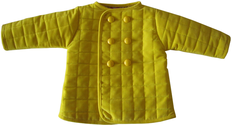 Free Pattern Tutorial For This Cute Quilted Toddler Jacket Size 2t Jacket Pattern Sewing Sewing Kids Clothes Sewing Patterns Free