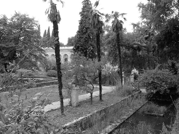 Jardin des plantes montpellier by s l shaw le jardin - Le jardin des plantes montpellier ...