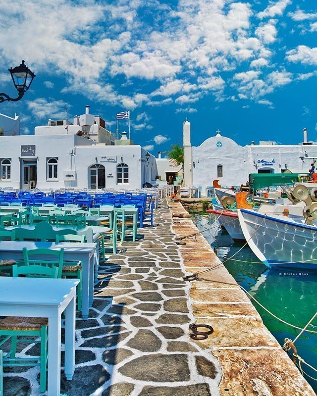 Location: Naousa Paros Cyclades Islands Greece Photo ...