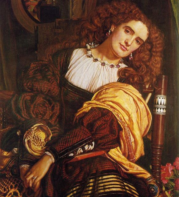 POUL WEBB ART BLOG - William Holman Hunt one of the founders of the Pre-Raphaelite movement.