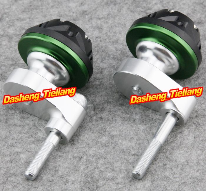 For Suzuki 2007 2008 Gsxr 1000 Motorcycle Frame Sliders Crash Pads Protector 07 08 Green Color Spare Parts Supplies Motorcycle Frames Gsxr 1000 Suzuki Gsxr