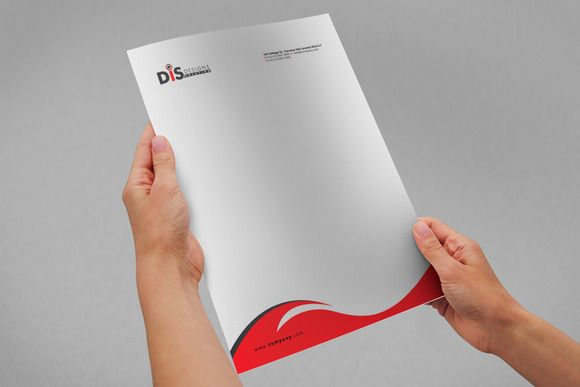 Letterhead Pad with MS Word Files by Designu0027sTRIBE on - letterheads templates free download