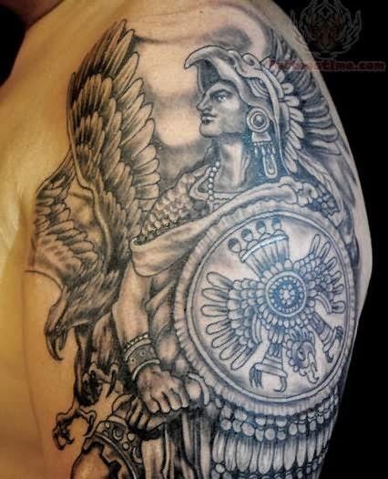 Aztec Warrior Tattoo Designs : aztec, warrior, tattoo, designs, Warrior, Tattoos, Aztec, Tattoo,, Tattoos,, Tattoo