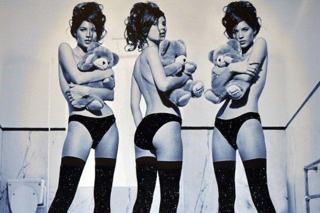 Art Pics: Kate Moss by Kate Garner @Gallery618