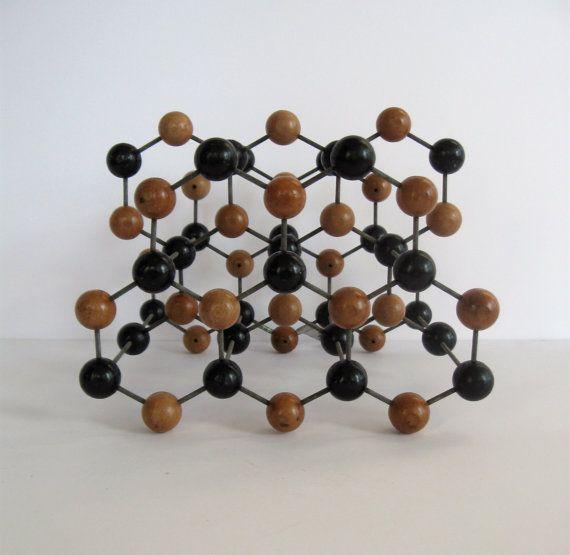 Best Mid Century Molecular Model Graphite Scientific