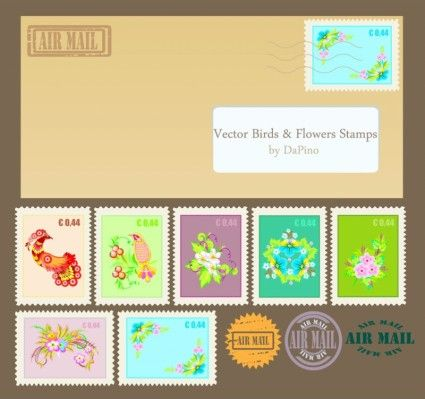 Stamp Vectors | Patterns, Vectors, & Designs     Oh my! | Vector