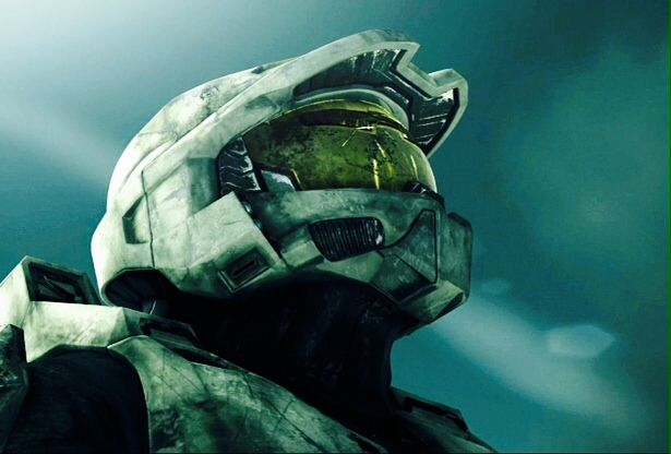 A Screenshot Of Master Chief From Halo 3 S Starry Night