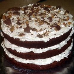 Chocolate Candy Bar Cake Recipe Cake Mix Sweets Pinterest