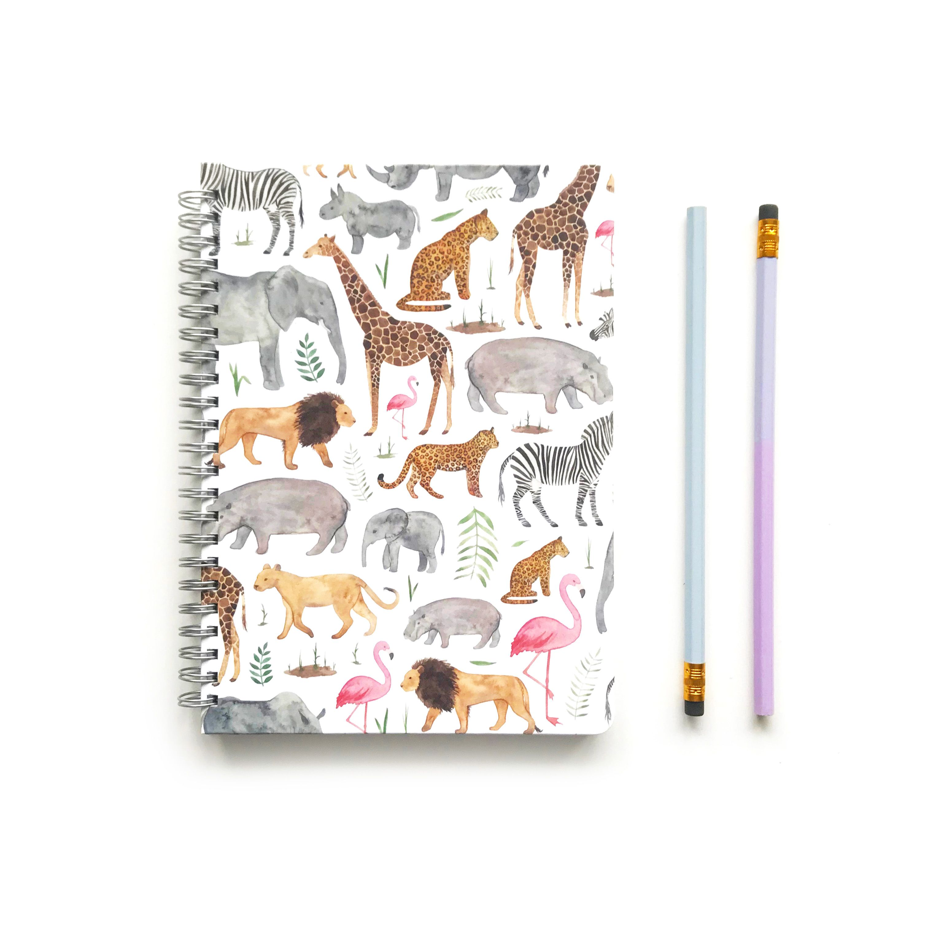 Safari A5 Ring Bound, Notebook, School Supplies