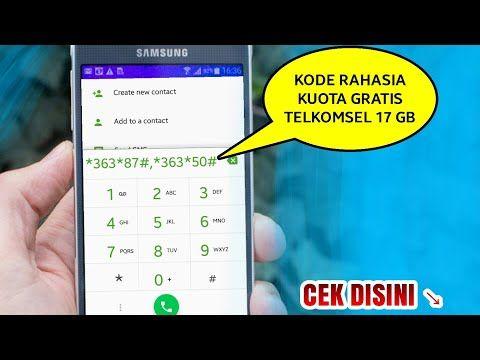 Heboh Kode Kuota Gratis 17gb Telkomsel 2018 Youtube Kartu Tahu Video