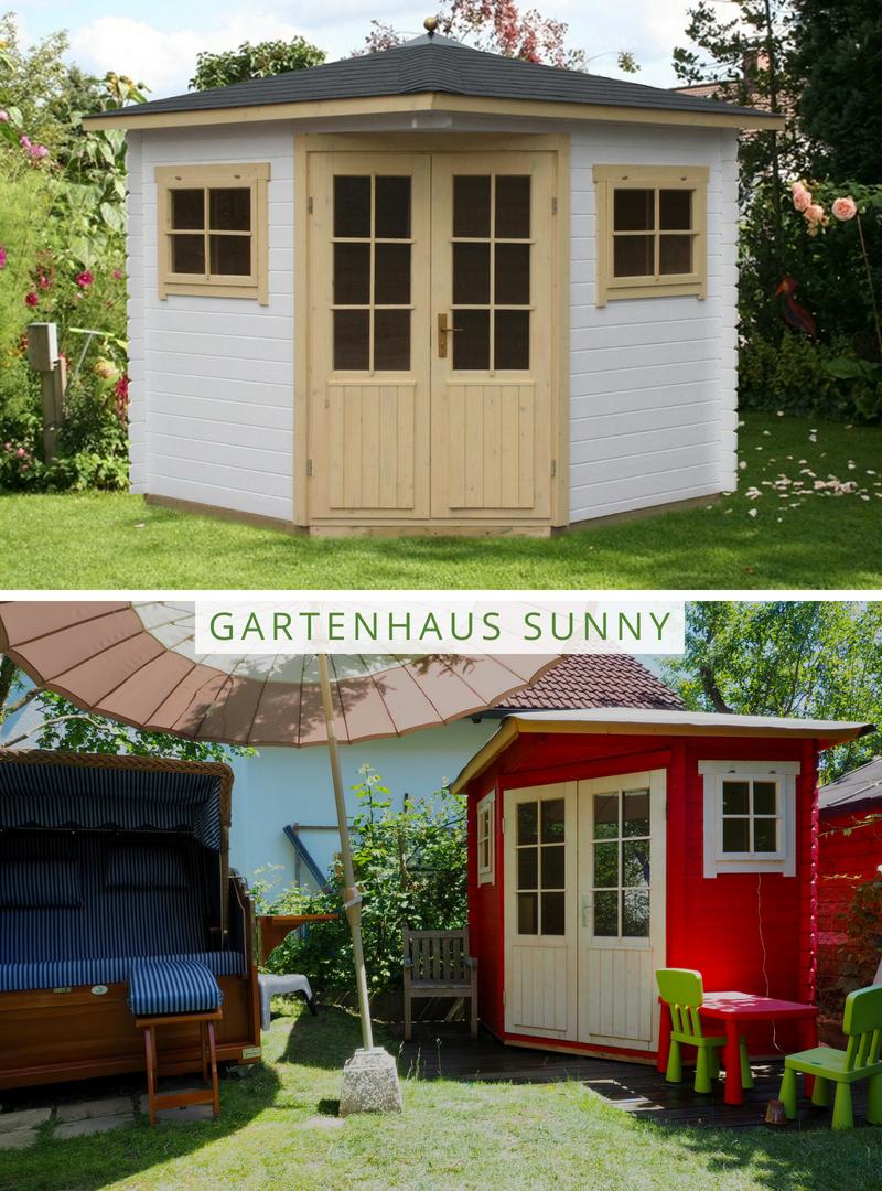 5Eck Gartenhaus Modell SunnyA Gartenhaus, 5 eck