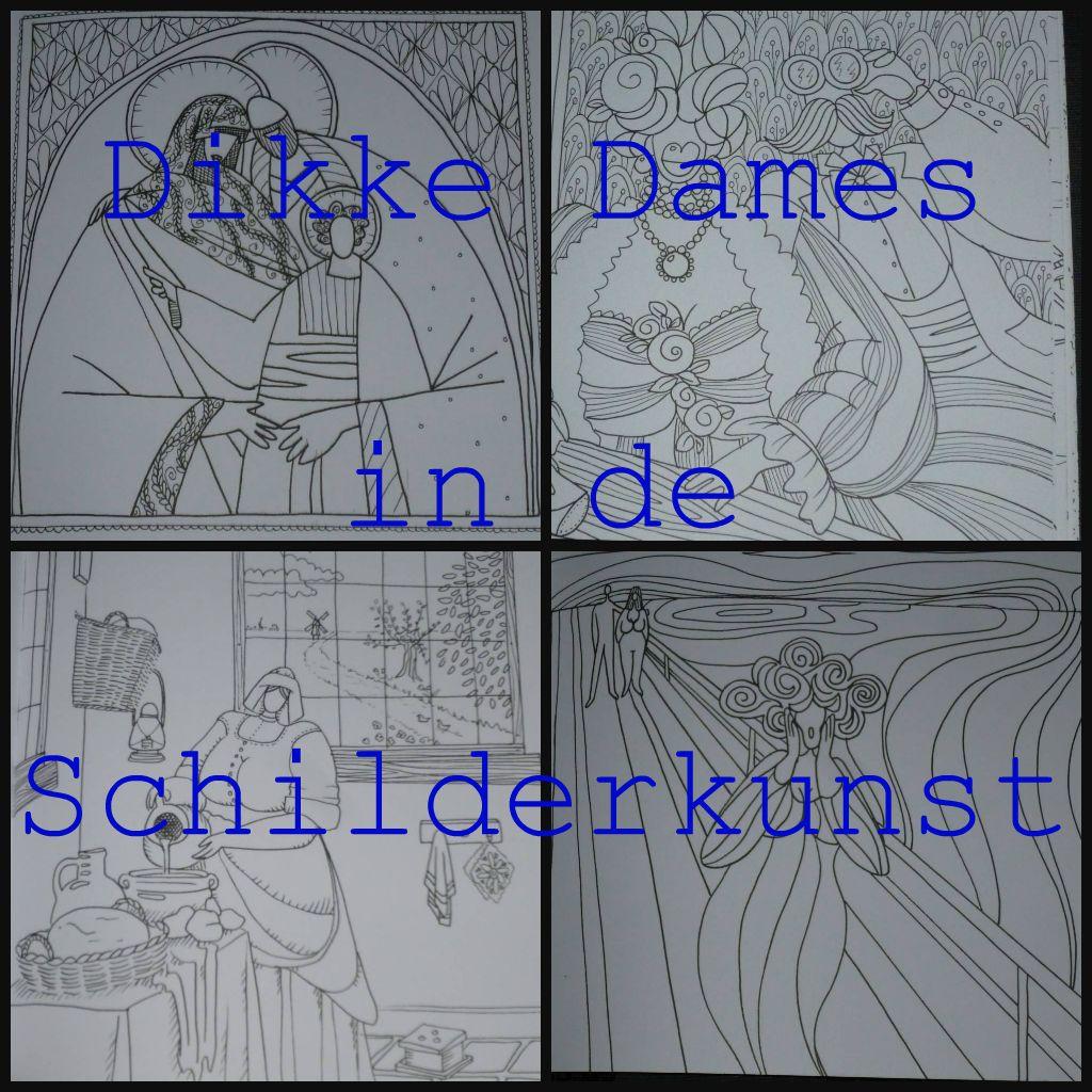 Dikke Dames In De Schilderkunst Kleurboek Recensie Hobby Pinterest