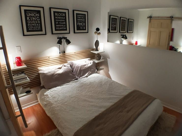 Big Lessons Small Space 5 Smart Stylish Details From A Tiny Bedroom