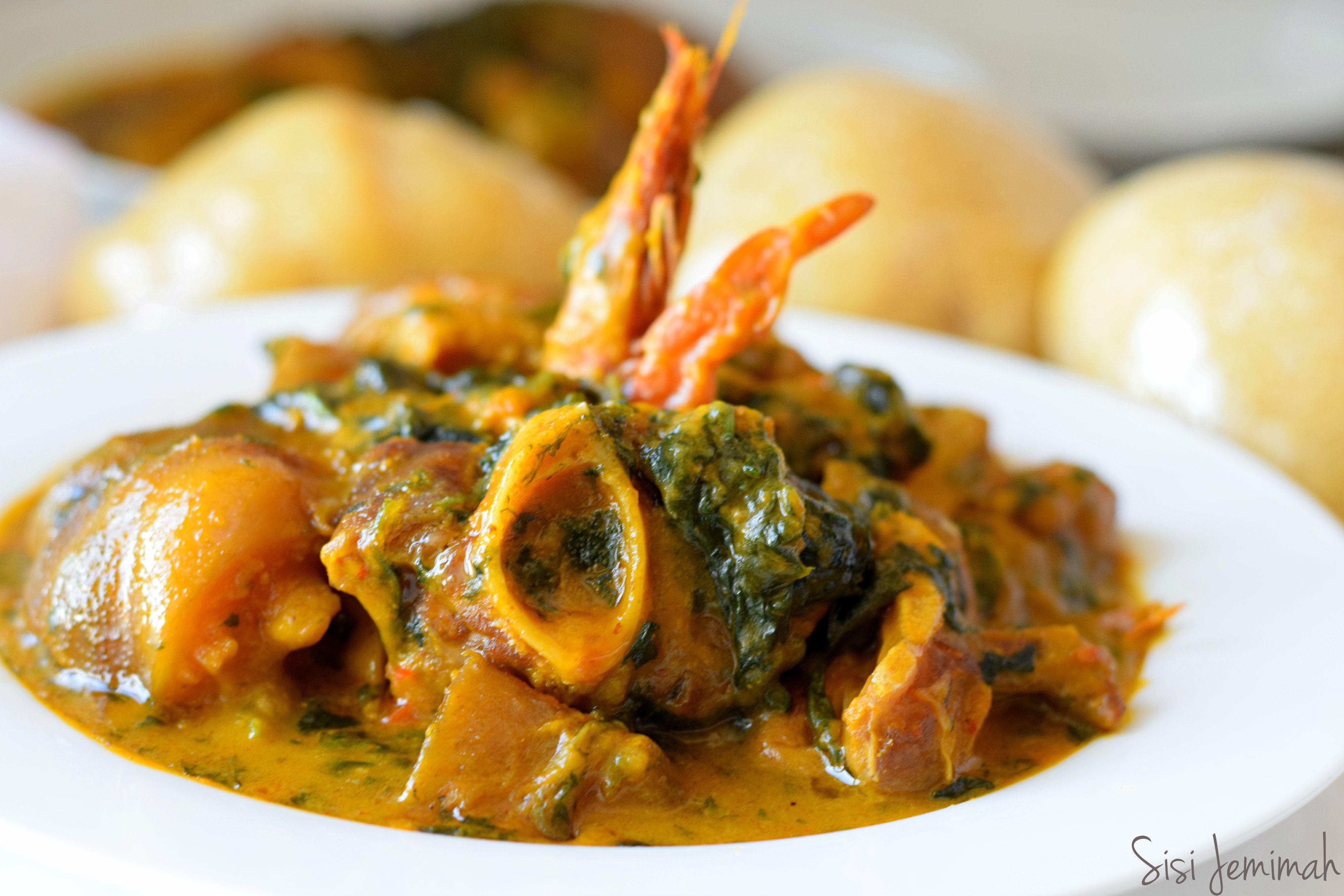 Bitter Leaf Soup - Ofe Onugbu | Naija grob | Soup, Nigerian