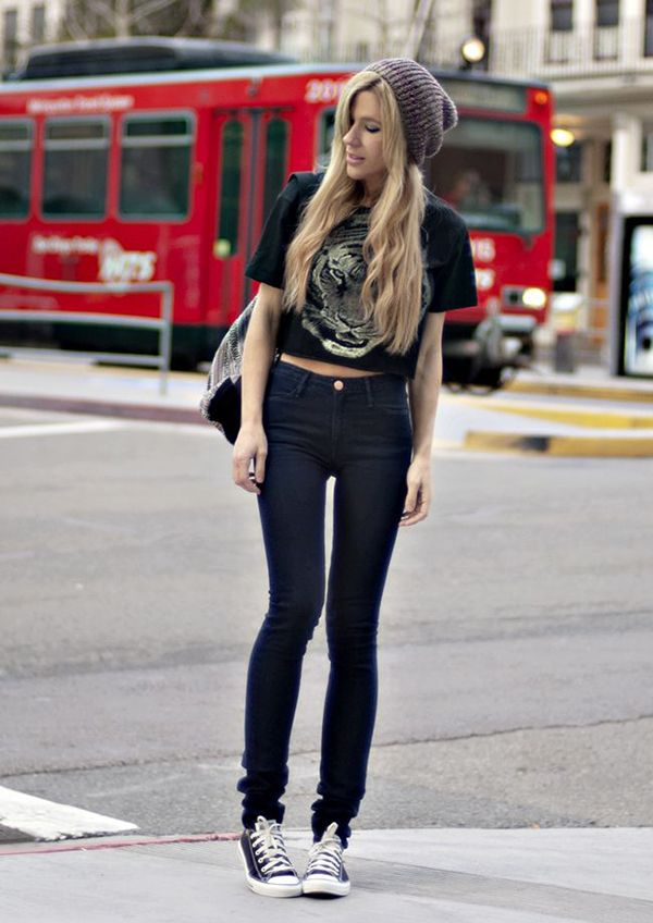 5f9d0d0f1b 20 Style Tips On How To Wear High Waisted Jeans
