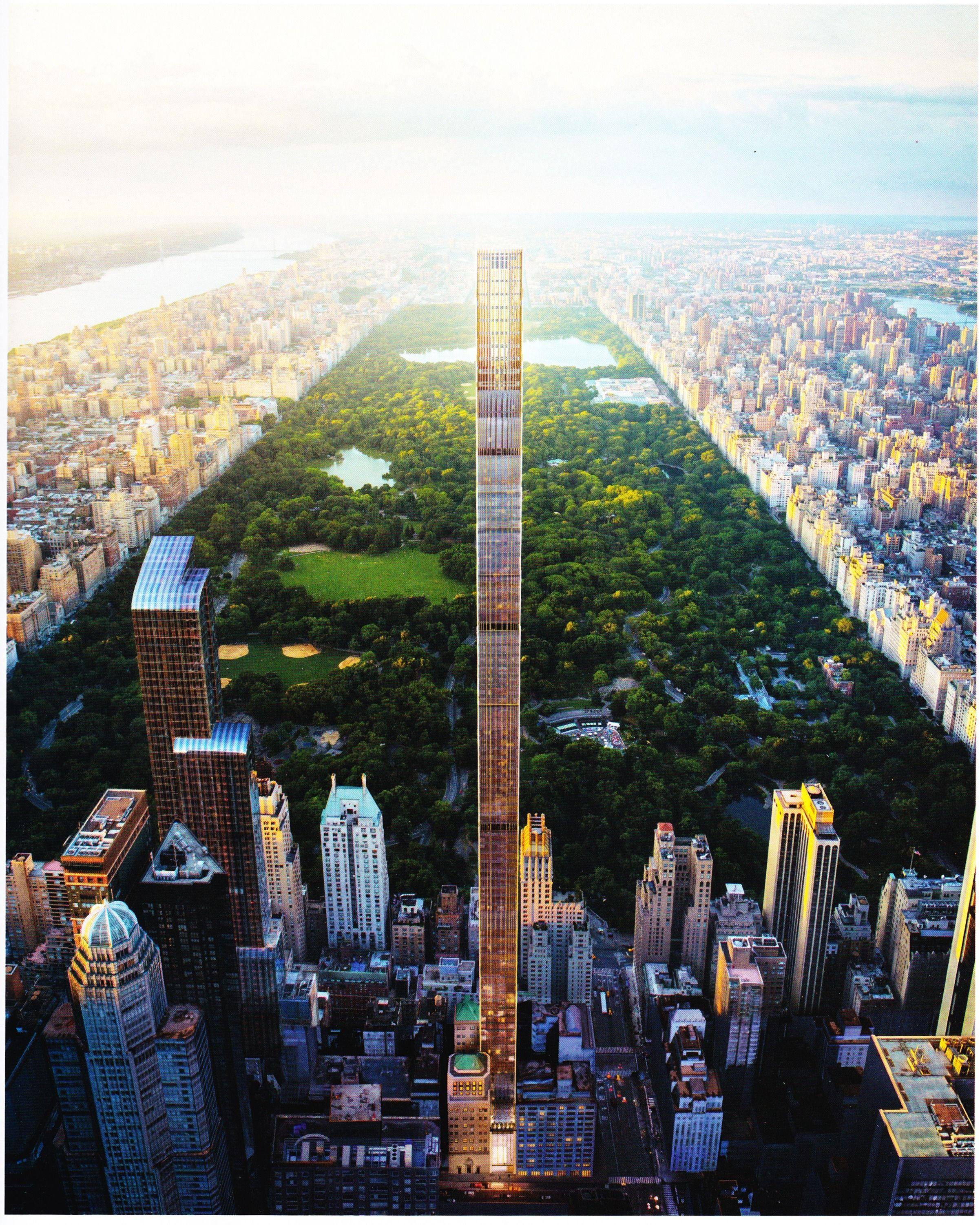 York 111 West 57th Street - Steinway Tower 433m 1421ft 95 Fl Prep Gina 82