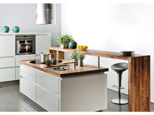 Douze cuisines avec lot central douze ambiances kitchens - Prix cuisine avec ilot central ...