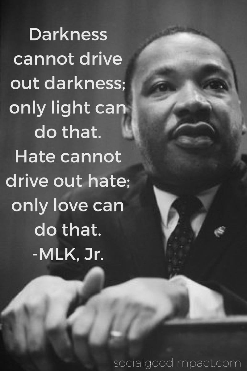 Five Quotes by Martin Luther King, Jr  for Social