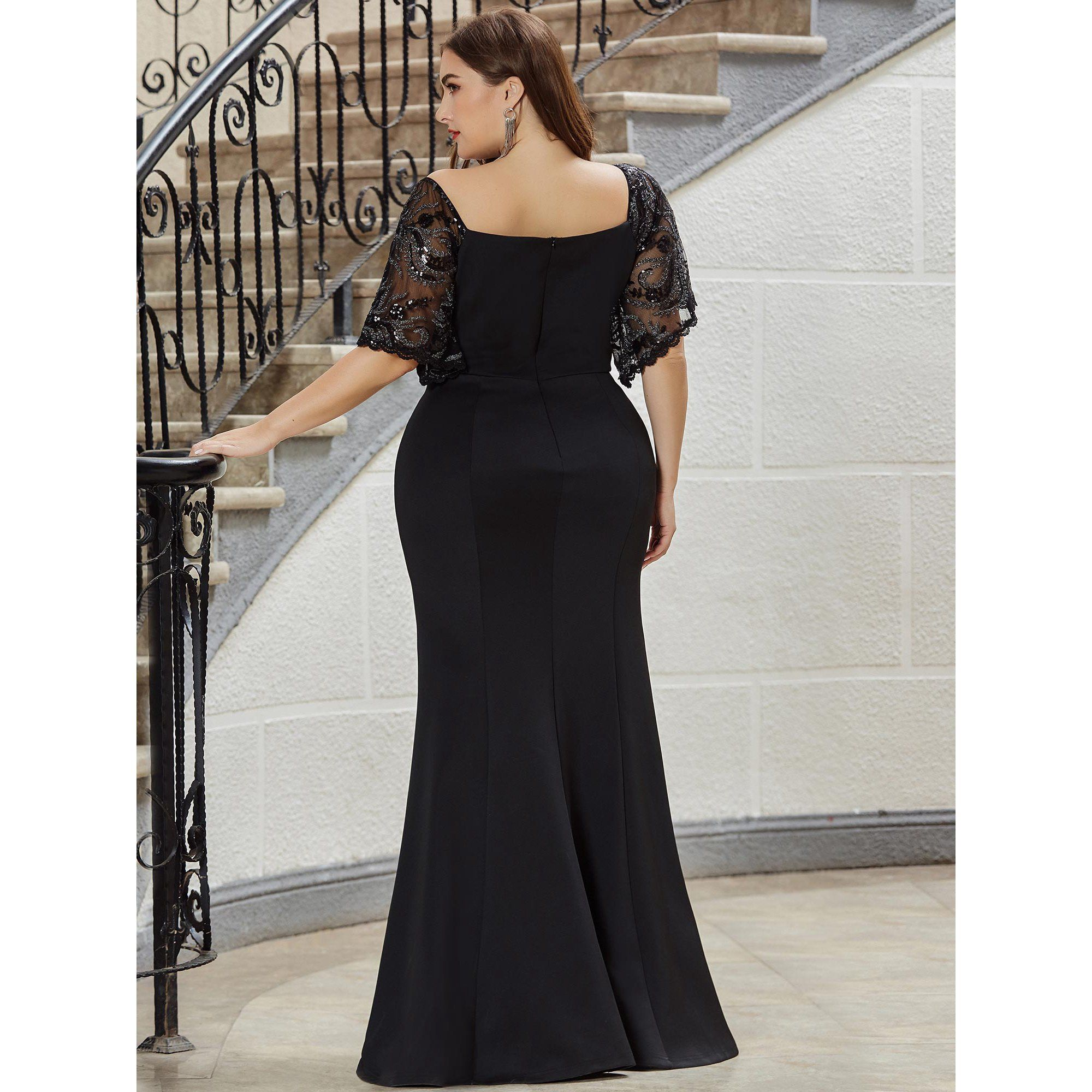 Ever Pretty Ever Pretty Evening Dress For Women Formal Plus Size Bridesmaid Dress For Wedding In 2021 Bridesmaid Dresses Plus Size Evening Dresses Plus Size Dresses [ 2000 x 2000 Pixel ]