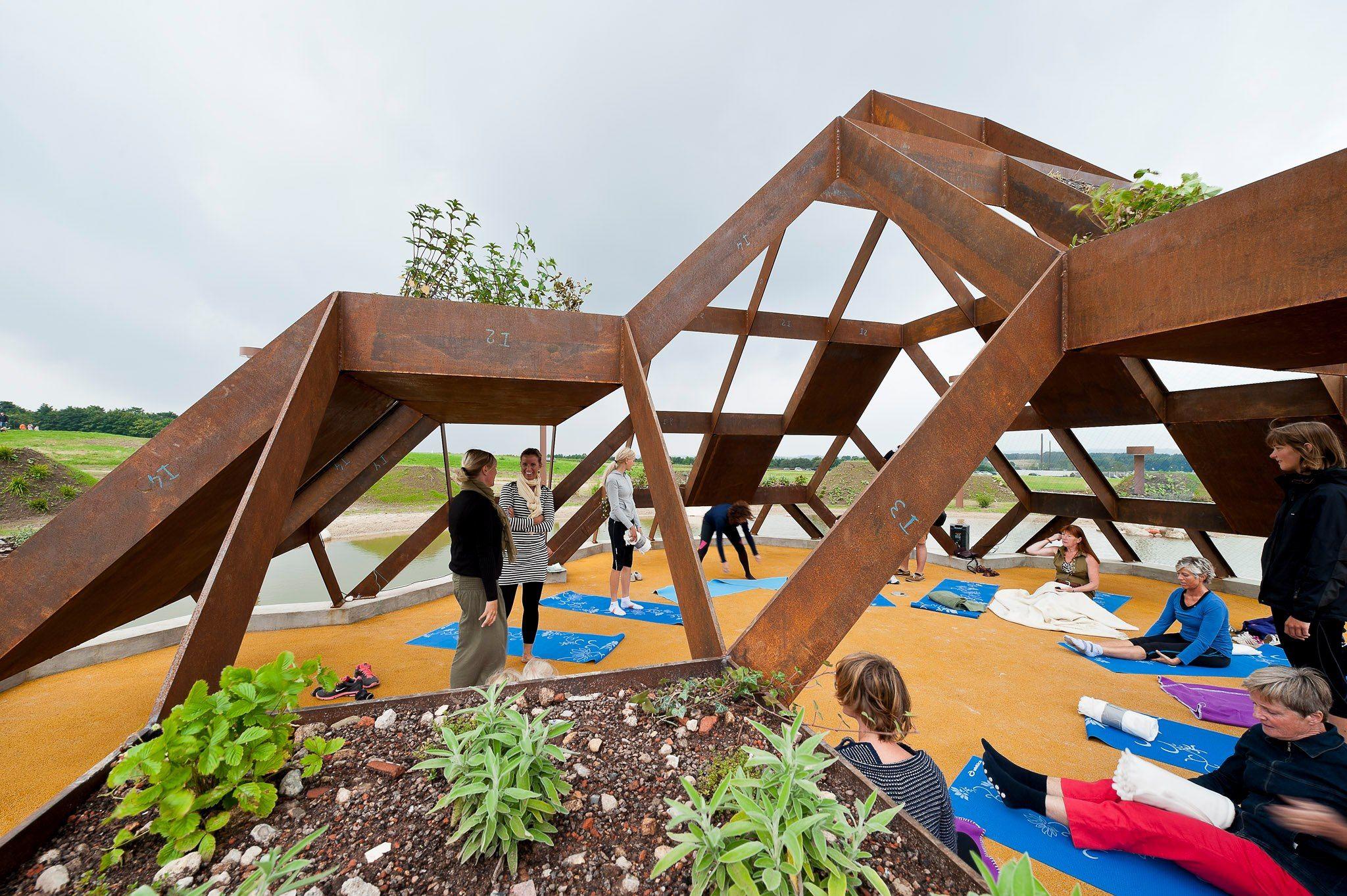 Pulse Park Cebra Landscape Architecture Design Landscape And Urbanism Park Landscape
