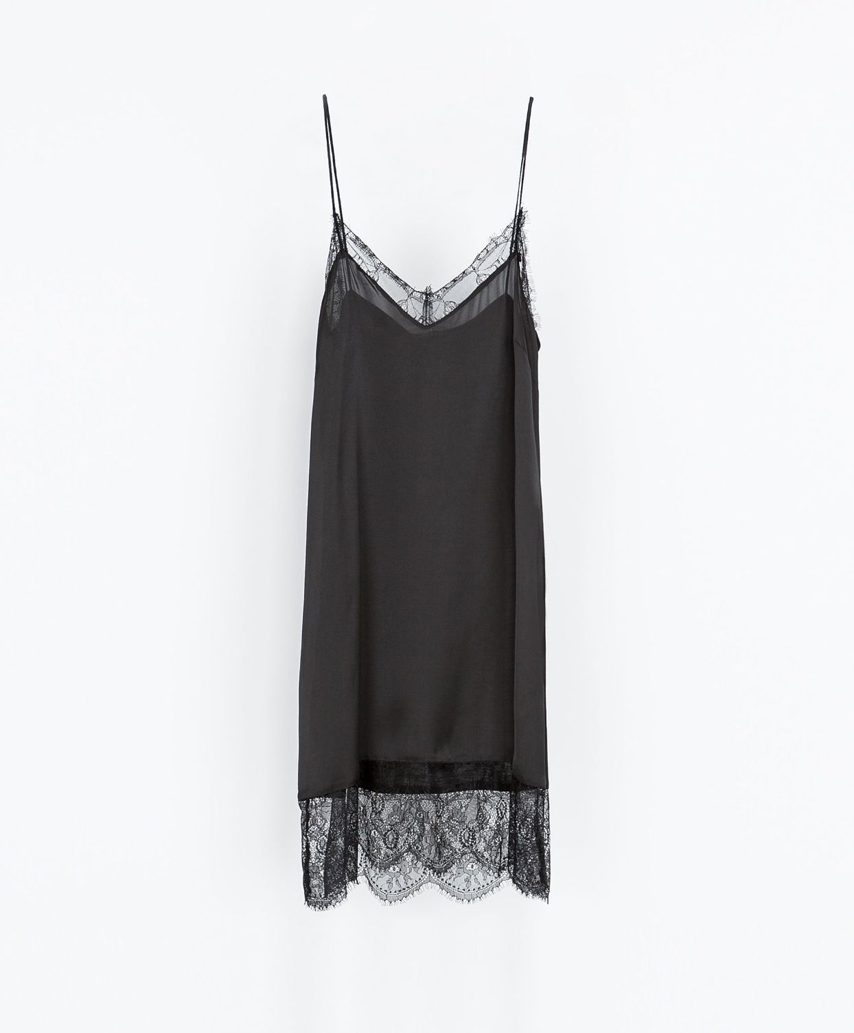 14961483845c6 Zara Slip Dress | la mode | Lingerie dress, Fashion, Fashion dresses