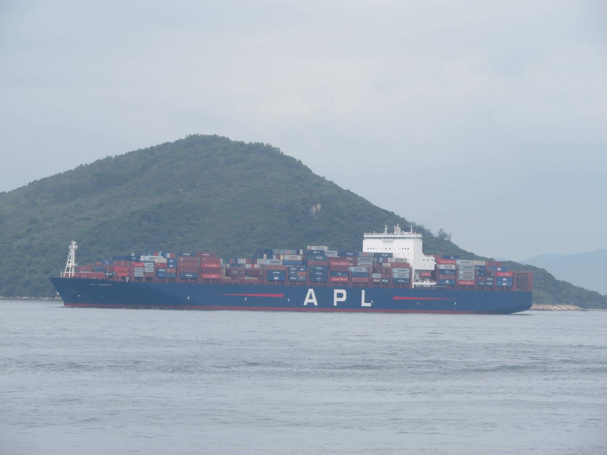 apl phoenix | Container ship | Reefer container, Building, Container