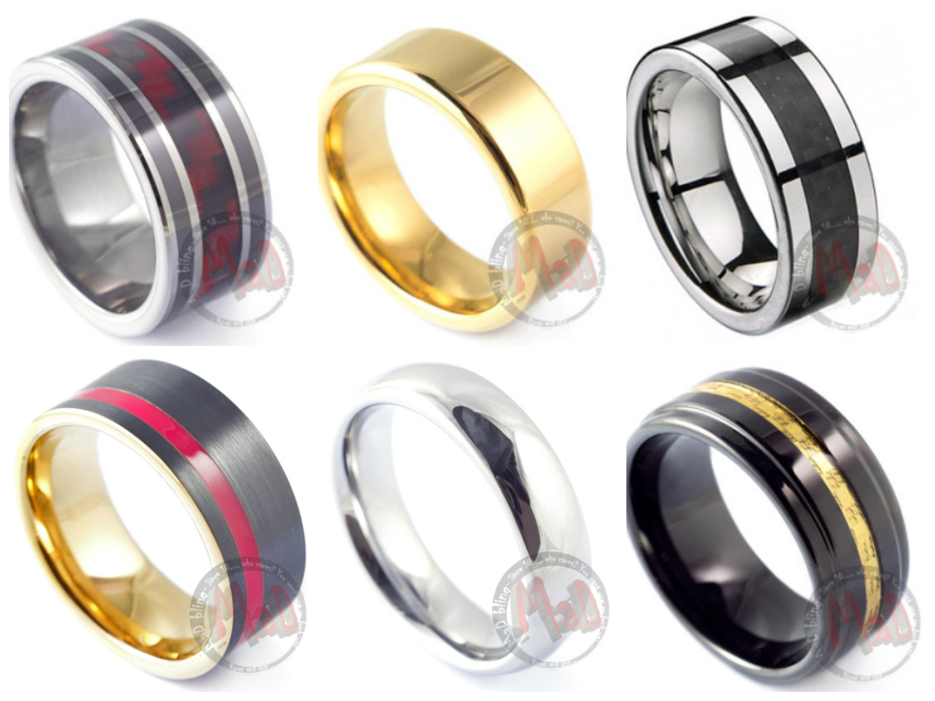 The Ring Colour that are loved by Men by Mad Tungsten