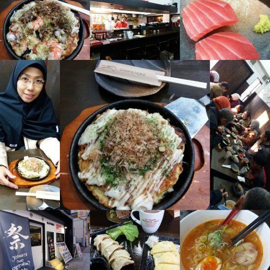 Halal Japan Food Osaka Matsuri Resto Blog Ilgotrip Makanan Jepang Osaka
