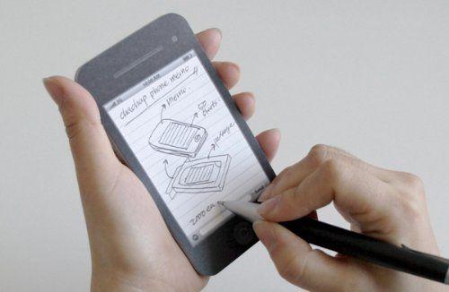 Apple Iphone 4S Paper Memo Pad