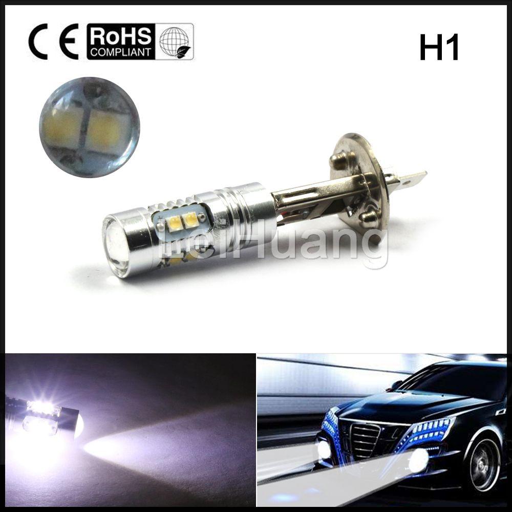 2 Ps Lote H1 50 W Xbd Alta Potncia Lmpada Led Levou Lampu Bohlam Bulb Philips 5 5w Watt 5watt