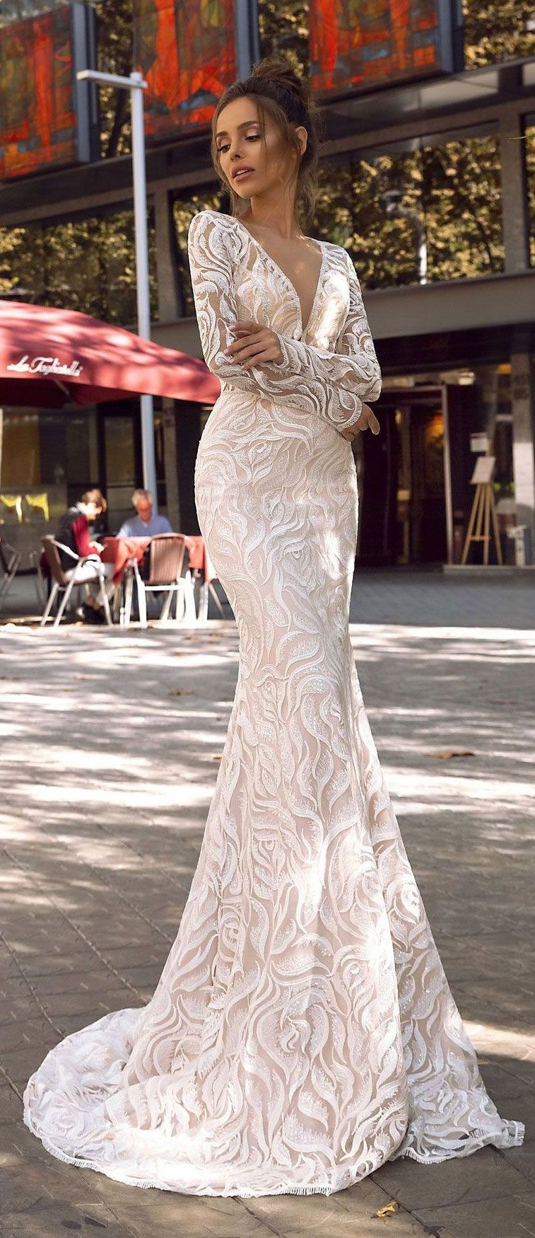 """Wedding Dress Inspiration – Tina Valerdi """"Passion by Tina"""" Bridal Collection"""