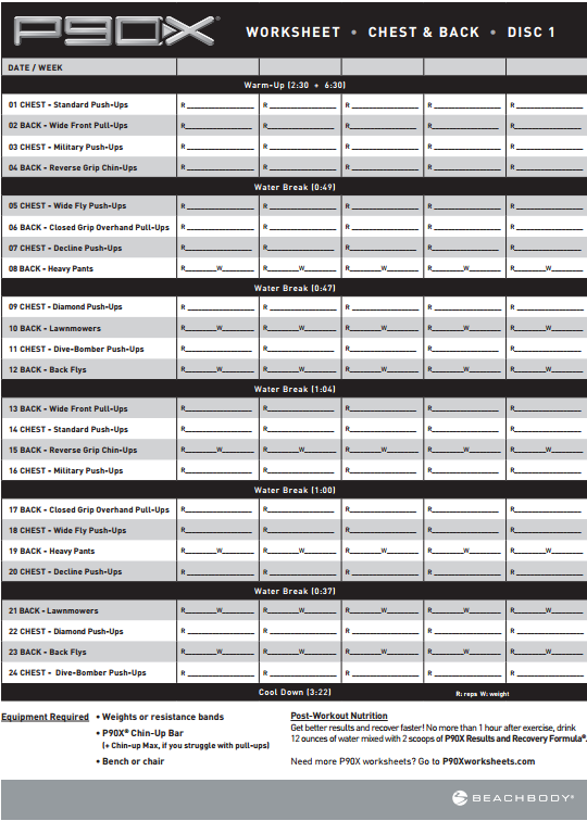 P90x Legs And Back Workout Sheet : workout, sheet, Starting, Workout, Program, Regardless, Whether, Something, Lik…, Sheets,, Schedule,, Calendar, Printable